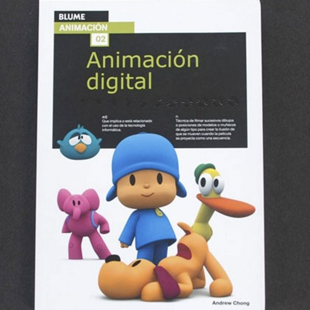 Libros, Chong, Andrew: Animación digital;