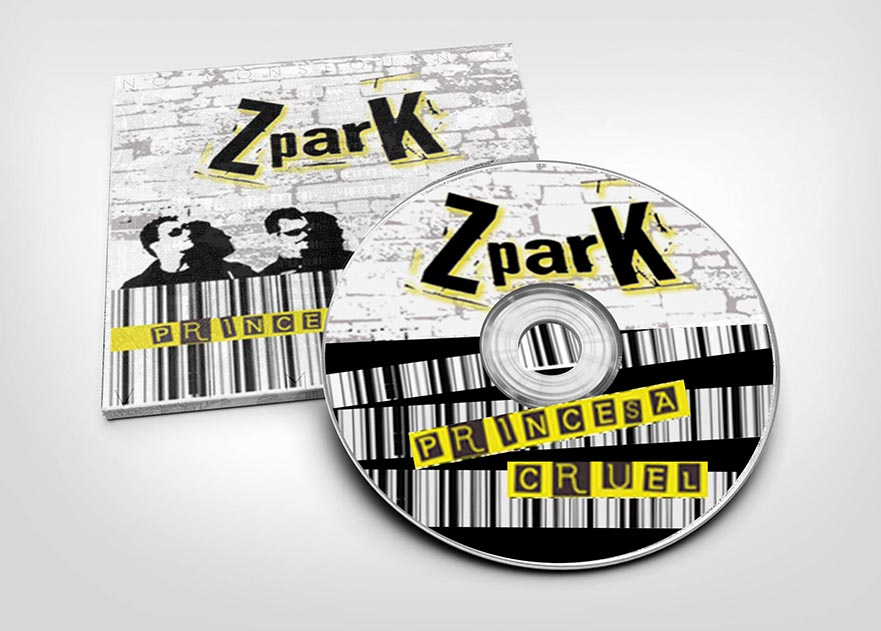 Carátula CD y logotipo del  grupo musical ZparK