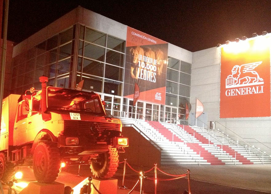 Producción del evento de la Convención Generali