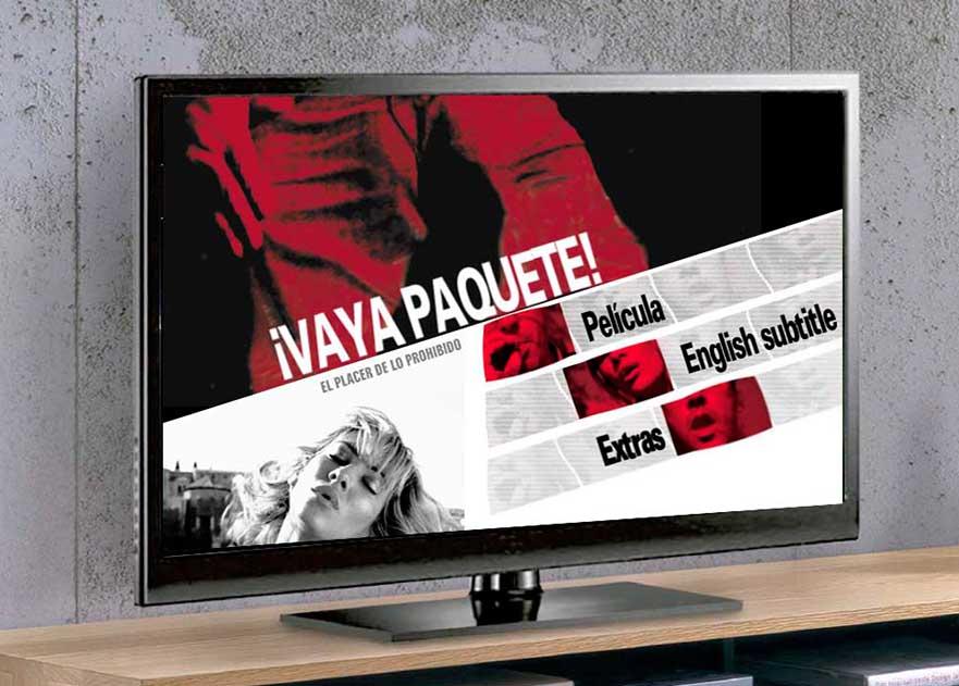 Creación de un vídeo para menu DVD