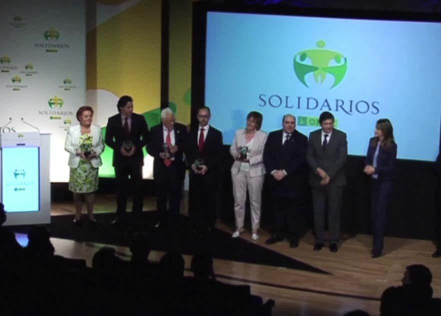 Actos solidarios ONCE portafolio Clara Ortega