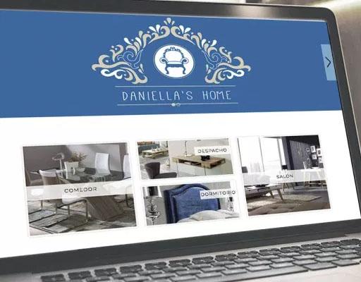 Proyecto web tienda de muebles Online para Daniella´s home