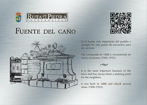 Placas QR Ruta de la Piedra Valdemorillo portafolio diseño klerr