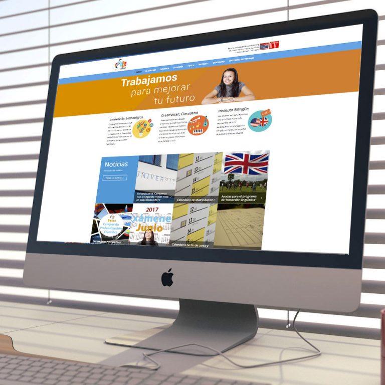 Proyecto Web Instituto IES Las Rozas 1