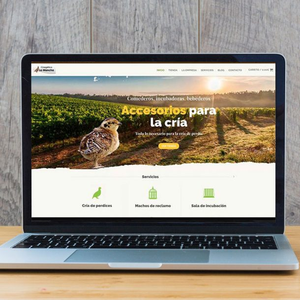 Proyecto Ecommerce con migración de Joomla a WordPress. Cinegetica La Mancha