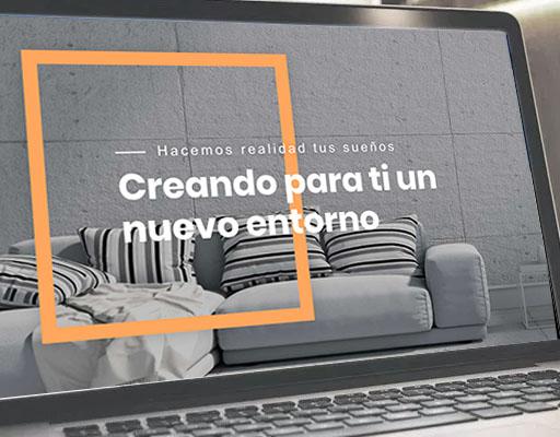 Diseño web equipo de reformas- Klerr