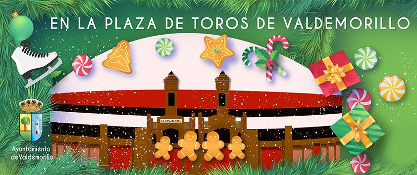 Detalle de la Pancarta de La plaza de la Navidad. Valdemorillo. Estudio Aclararte.