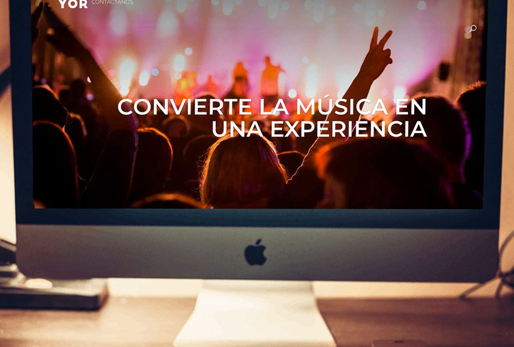 Web Escuela de música Do Mayor con Ecommerce